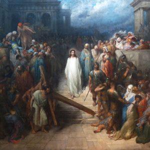 Gustave Doré Christ quittant le prétoire Wikipedia