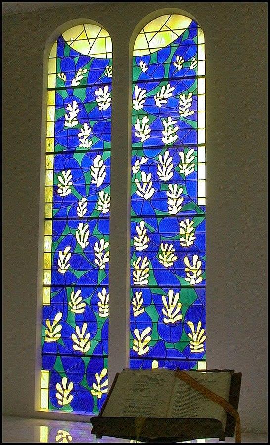Matisse Vitraux de la Chapelle de Vence