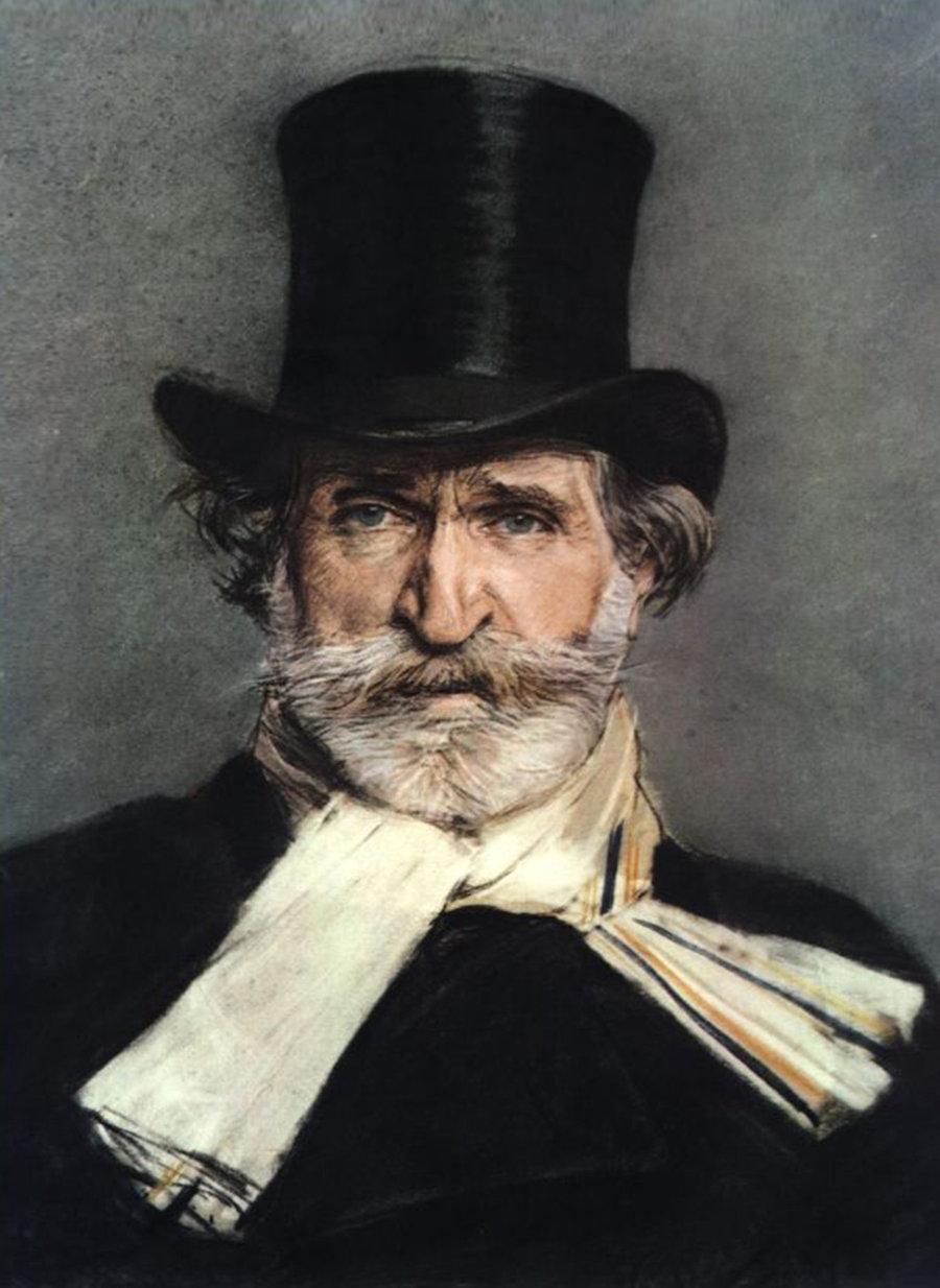 Giuseppe Verdi par Giovanni Boldini