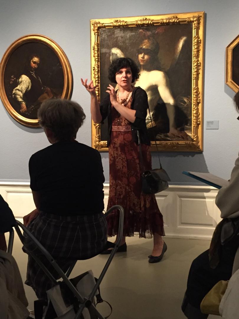 Catherine Jordy au Musée des Beaux-Arts de Strasbourg