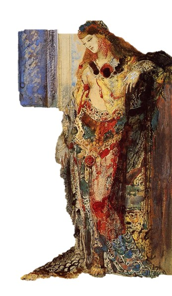 Gustave Moreau La Toilette Détail