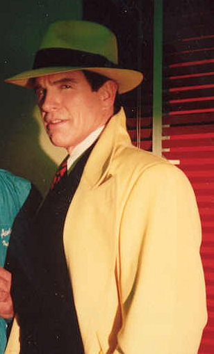 Warren Beatty dans le rôle de Dick Tracy